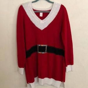 Mrs claus tunic